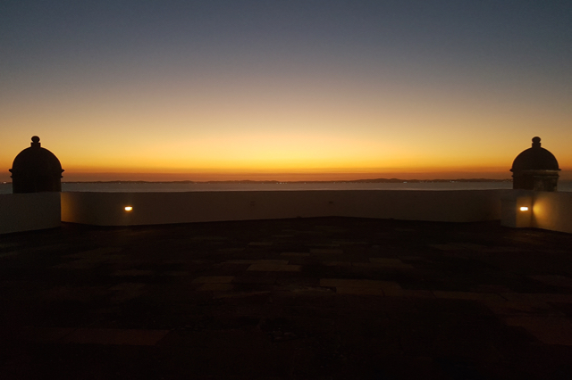 Farol - Vista a noite 1